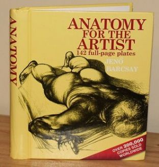 Anatomy for the Artist by Jeno Barcsay - 9780316030243